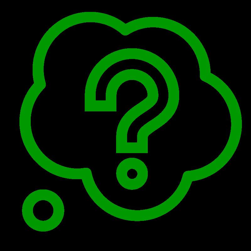 icoon veelgestelde vragen